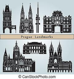 Marcas de Praga y monumentos