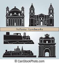 Marcas de Valletta y monumentos