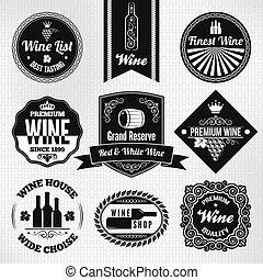 Marcas de vino fijadas
