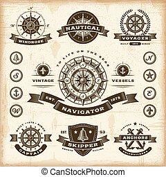 Marcas náuticas de vintage