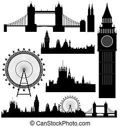 Marcas terrestres del Vector London