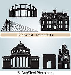 Marcas y monumentos Bucarest