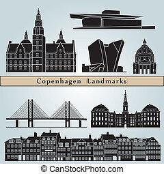 Marcas y monumentos de Copenhague