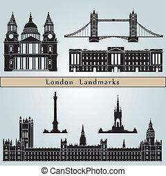 Marcas y monumentos de Londres