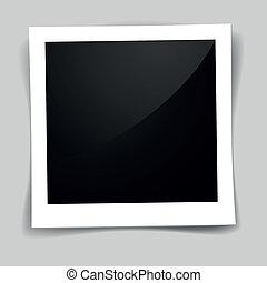 marco de la foto, retro