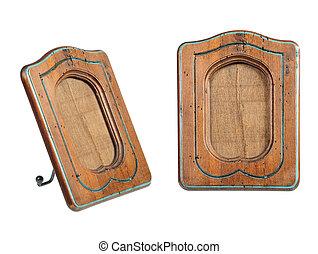 marco de madera, old-fashion