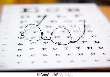 marco, delgado, anteojos