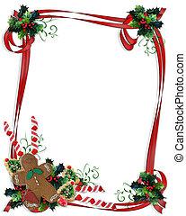marco, navidad, cinta, gustos