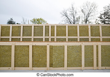 marcos aislados para casa prefabricada