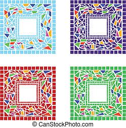 marcos, mosaico