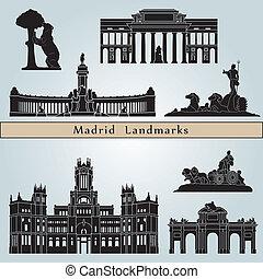 Marcos y monumentos de Madrid