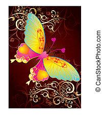 mariposa, amor