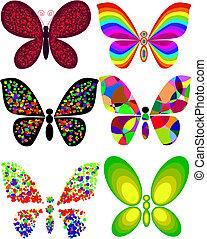 mariposa, artístico