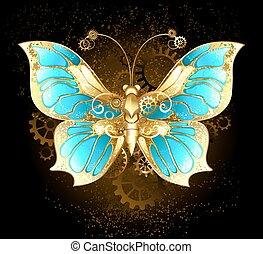 mariposa, mecánico