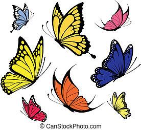 Mariposas vector
