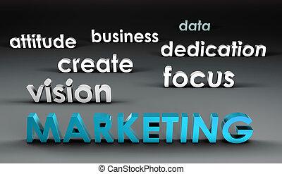 Marketing al frente
