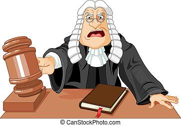 martillo, juez