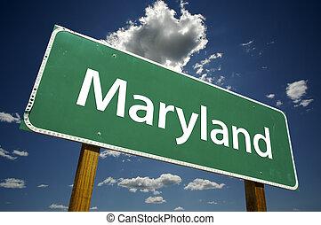 maryland, muestra del camino