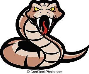 mascota, víbora, serpiente
