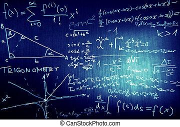 matemáticas, física, ciencia