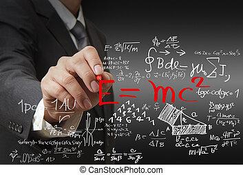 Matemáticas y fórmula científica