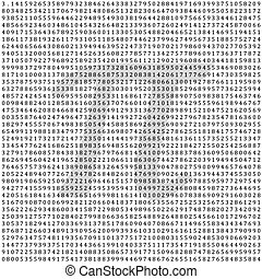 matemático, 3.1415, -, columna, vector, figuras, plano de fondo, pi