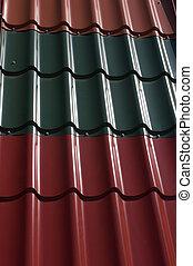Materiales de construcción, antecedentes de tejado