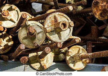 Materiales de construcción, depósito de válvulas especiales