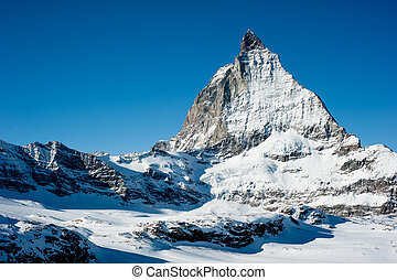 Matterhorn en invierno