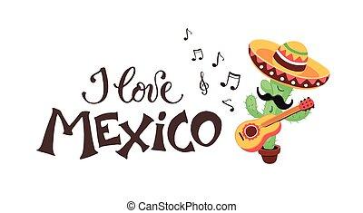 Me encanta el cactus de México