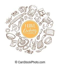 Me encanta el póster de cocina