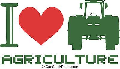 Me encanta el símbolo de agricultura
