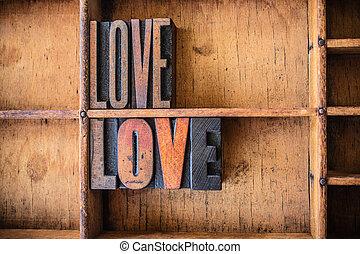 Me encanta el tema de las letras de madera