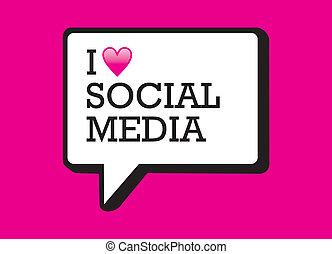 Me encanta la burbuja de los medios sociales