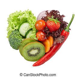 Me encanta la comida vegetariana