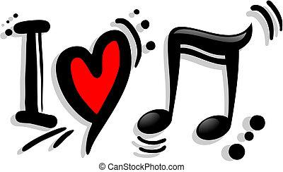 Me encanta la música