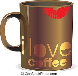 Me encanta la taza de café