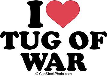 Me encanta tirar de la guerra