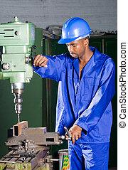 mecánico africano