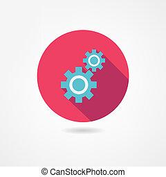 mecanismo, icono