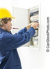 Mechas de reparación eléctrica