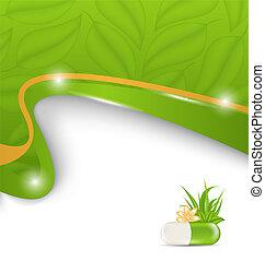 Medicación alternativa natural, antecedentes médicos