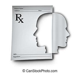 Medicamentos para la salud mental