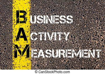 Medición de actividad empresarial BAM