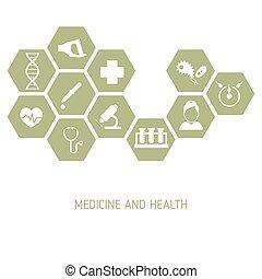 Medicina con iconos