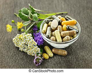 Medicina de hierbas y hierbas