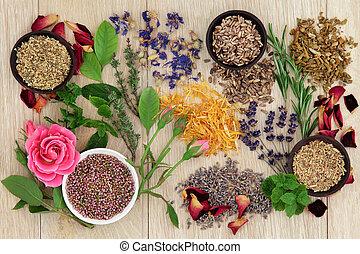 medicina herbaria, natural