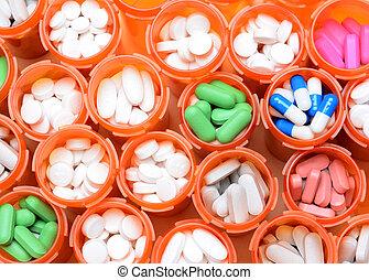 medicina, prescripcíon embotella