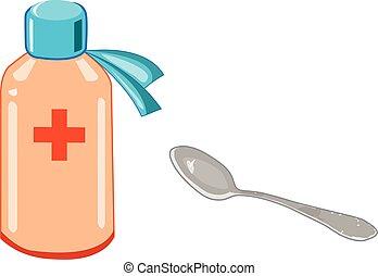 Medicina y cuchara