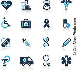 Medicina y cuidado de la muerte / Azul